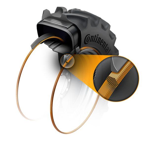 Combine tyre-bead-technology-hexabead SQUARE