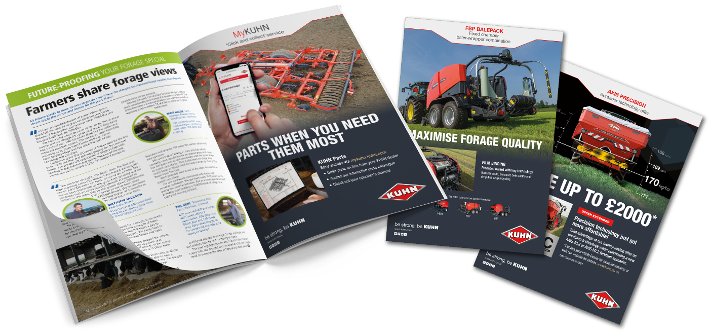 Agribusiness Communications Need an ad designed? We've got you covered. How about a brochure to send out to clients? No problem. We can also help with brand development.